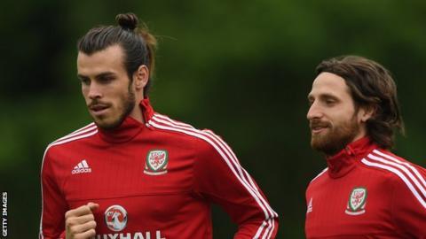 Gareth Bale and Joe Allen
