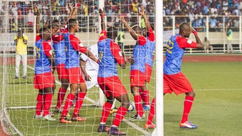 Kabananga strikes as DR Congo upset Morocco