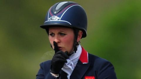 Gemma Tattersall gestures