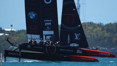 Team NZ take charge of America's Cup final