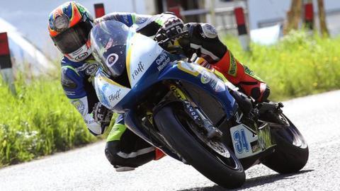 Dan Cooper won the British 125cc championship in 2006