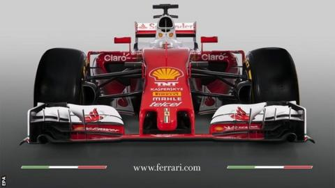 Ferrari presents new F1 car it hopes can challenge Mercedes