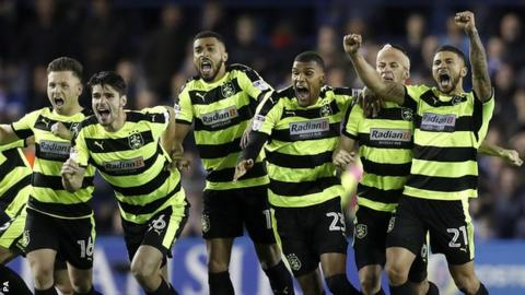 Huddersfield wins soccer's richest game, into Premier League