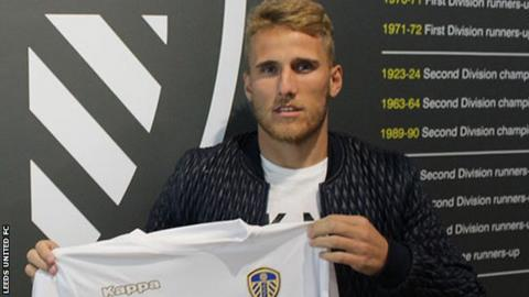 Leeds United announce signing of ex-Real Madrid forward Samuel Saiz