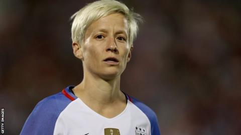 Megan Rapinoe: Fifa insults women by nominating student for player of year