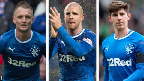 Clint Hill, Philippe Senderos and Emerson Hyndman
