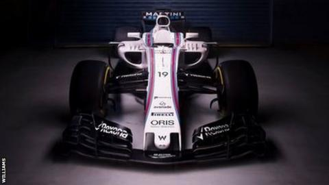 f1 new car releaseFormula 1 Williams launch new car for 2017 season  BBC Sport