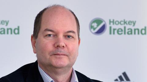 Hockey Ireland Chief Executive Jerome Pels