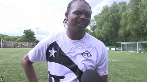 Former Nigeria captain Nwankwo Kanu