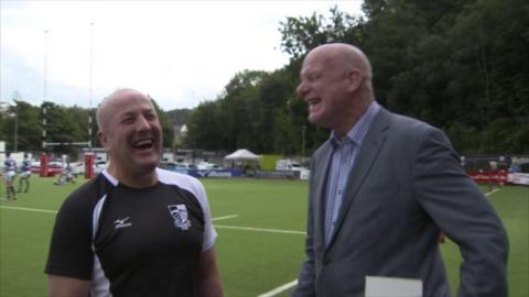 Garin Jenkins and Phil Steele