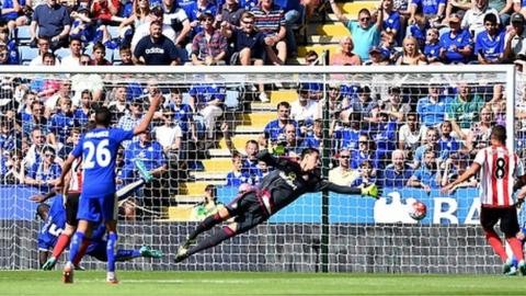 Leicester started the season with a 4-2 win over Sunderland at the King Power Stadium.