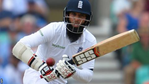 England batsman Moeen Ali