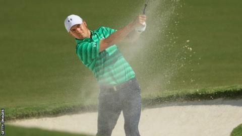 Olesen shares USPGA lead with Kisner