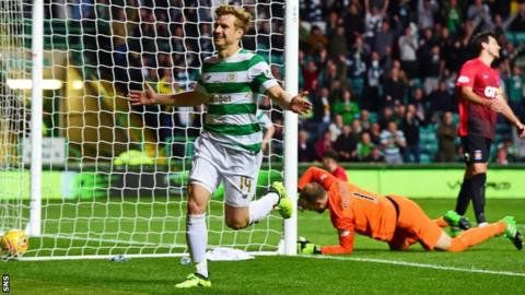 Celtic suffer blow to hopes of re-signing Roberts on loan