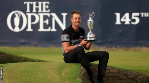 Henrik Stenson won The Open in dramatic fashion last year