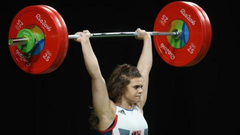 Rebekah Tiler during the 2016 Rio Olympics