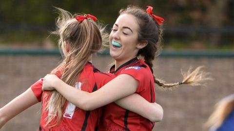 Katie McKee scored within the first 15 seconds for Banbridge