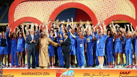Morocco hosts the 2014 IAAF Intercontinental Cup
