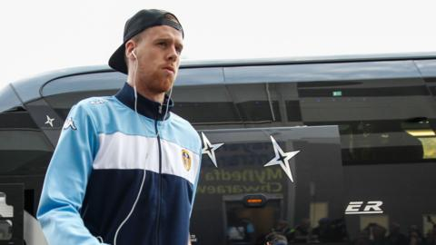 Leeds defender Pontus Jansson