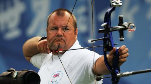 GB Paralympic archer John Stubbs