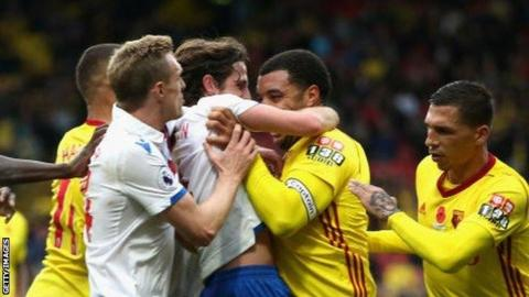 Deeney to serve three-match ban for violent conduct as Watford & Stoke charged