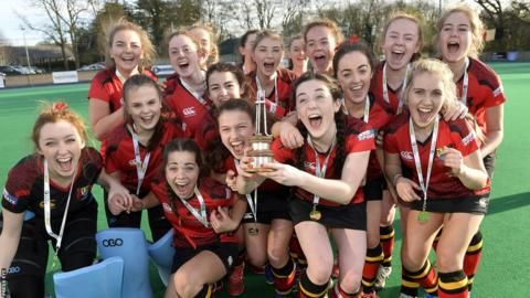 Banbridge Academy have won the All-Ireland Schoolgirls' Championships at the first attempt having landed their maiden Ulster title earlier this year