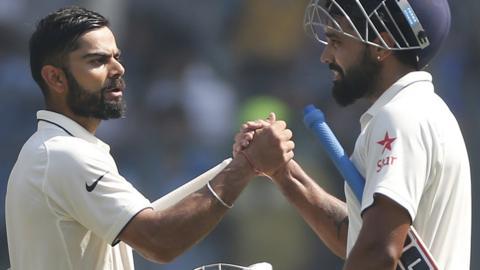Virat Kohli and Murali Vijay