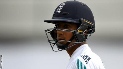 England and Lancashire's Haseeb Hameed