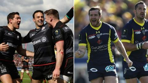 Saracens and Leinster