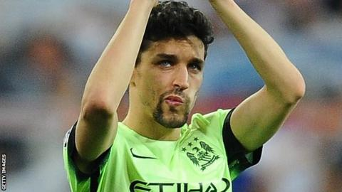 Sevilla confirm return of winger Jesus Navas from Man City