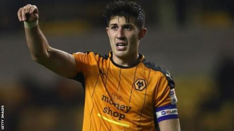 Wolves captain Danny Batth