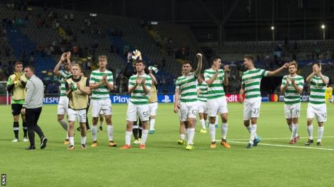 Celtic qualify for the Champions League despite scare