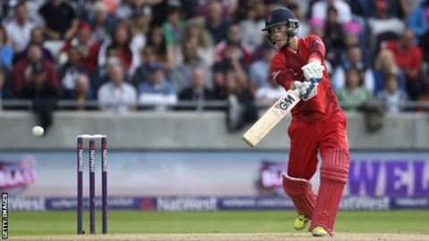 Lancashire wicketkeeper Alex Davies