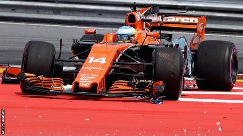 Alonso returns to the Spec 3 with penalties