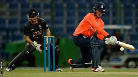 Jason Roy's 59 came off 29 balls and included nine fours and two sixes
