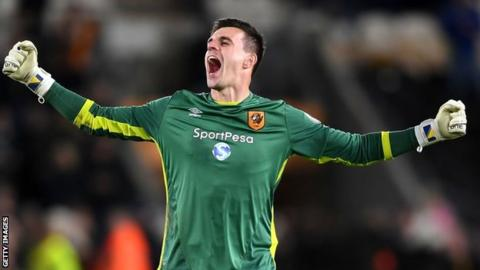 Eldin Jakupovic: Leicester sign goalkeeper from Hull on three-year deal