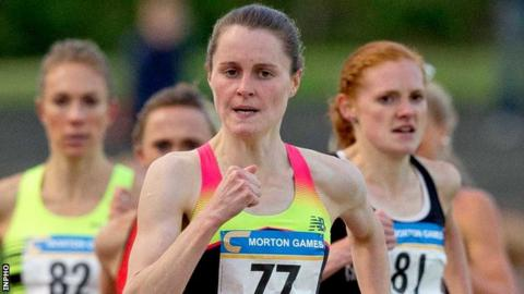 Ciara Mageean improved her Northern Ireland 1500m record
