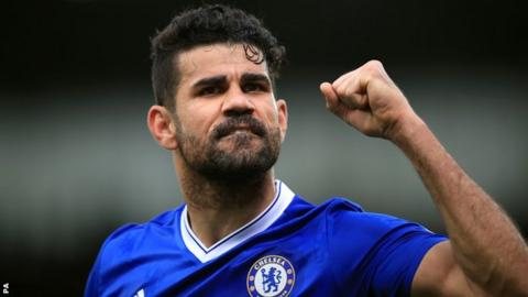 Tianjin Quanjian play down move for Diego Costa