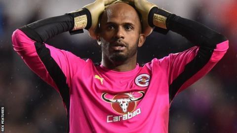 Reading goalkeeper Ali Al Habsi