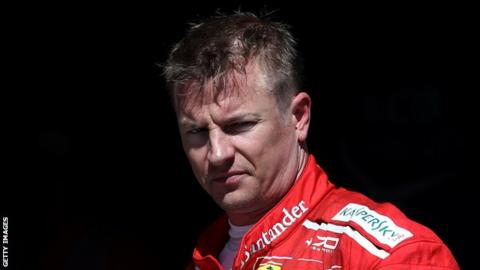 Kimi Raikkonen pens new deal with Ferrari