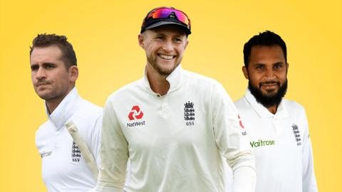 England Ashes squad