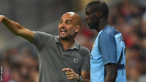 Pep Guardiola sold Yaya Toure