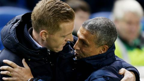 Garry Monk and Chris Hughton