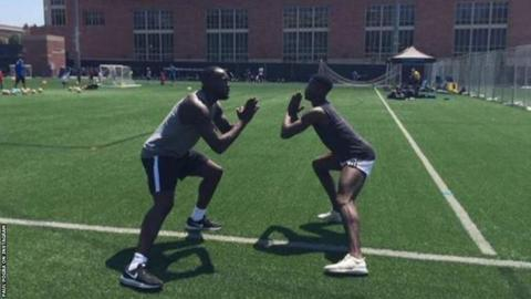 Lukaku and Pogba have been keeping fit together this summer