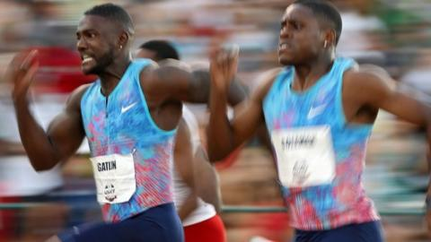 Justin Gatlin and Christian Coleman