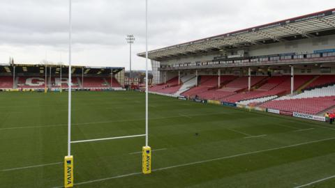 Kingsholm, home of the Cherry and Whites