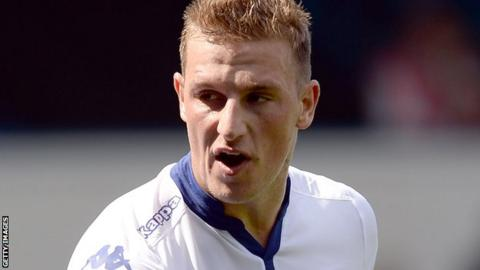 Leeds United's Chris Wood