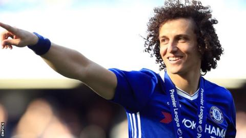 David Luiz reveals he took pay cut to return to Chelsea