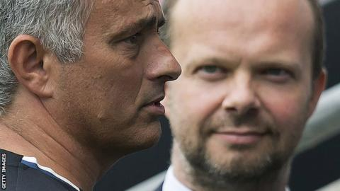 Jose Mourinho and Ed Woodward