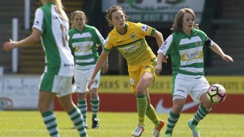 Yeovil Town Ladies v Liverpool Ladies